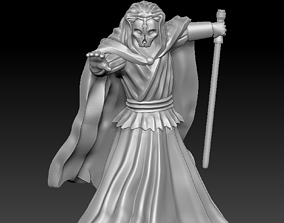 3D printable model Spooky Ancient Knight