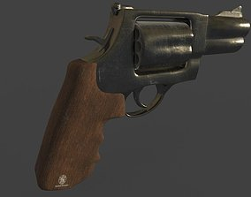 Smith and Wesson Gun 3D model PBR