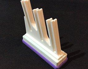 Folding Card Display Stand 3D print model