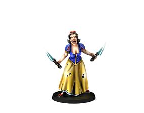 3D print model Snow white
