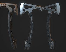 3D asset Modern Axe 01