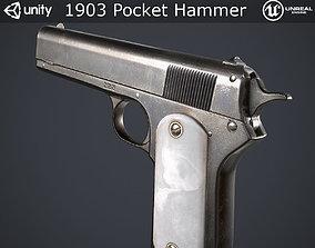 1903 Pocket Hammer Pistol 3D model