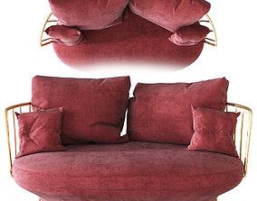 3D Wittmann PARADISE BIRD Sofa