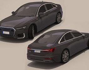 2020 Audi A6 3D asset