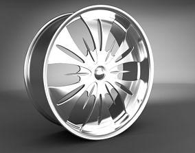 rim 3D model Wheel Rim