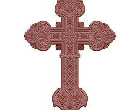 Cross symbol 3D printable model