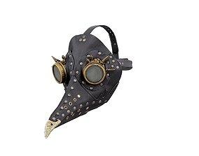 Steam Punk Bird Snout 3D