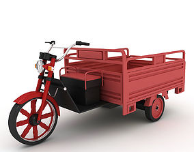 3D Electric Utility Tricycle