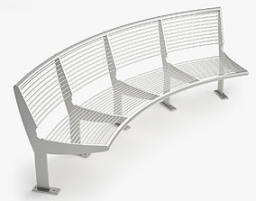 3D model Capri Bench - Type A