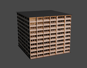 VR / AR ready old building 3d by cyberalex