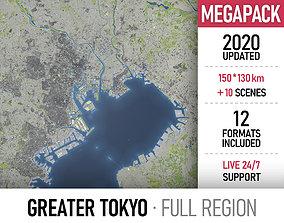 Greater Tokyo - metropolitan area 3D model