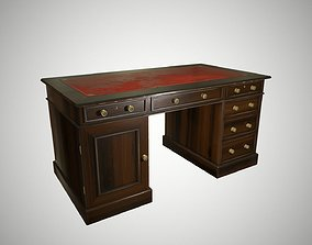 3D asset Antique desk