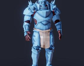 Fullmetal Alchemist Alphonse Elric 3D model basemesh