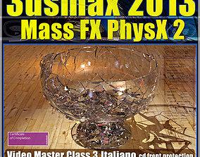 animated 3dsmax 2013 Mass Fx PhysX v 3 Italiano cd front