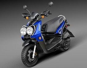 3D Yamaha Zuma 125 Scooter 2014