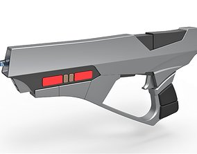 3D printable model Maquis Rifle from Star Trek DSP and