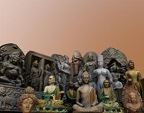 3D asset Museum pack - Ancient Asia