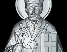 67 RELIGION ICON Saint Nicholas 3D printable model
