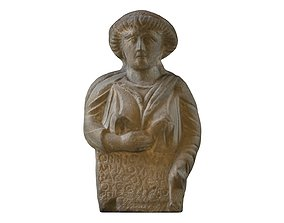 3D PRINTING - SYRIAN FUNERARY STELE OF A WOMAN
