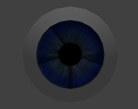 pixar 3D model Realistic human eye