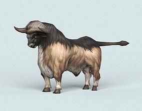 3D asset Monster Bull