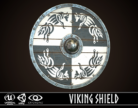 Viking Shield 30 3D model