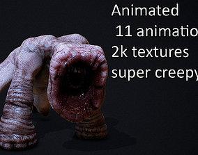 horror monster ANIMATED AAA 3D model