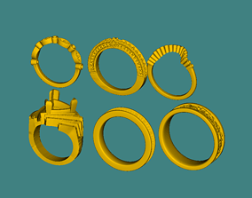 printable golden ring total 6 styles