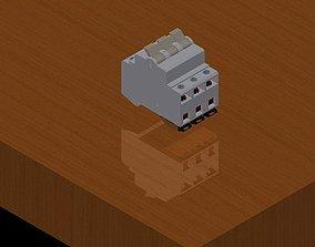 3D 3 Circuit breaker