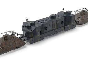 3D model Eisenbahnpanzerzuge-German Armored Trains