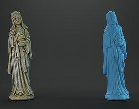 3D print model FREE Balthazar Christmas nativity crib