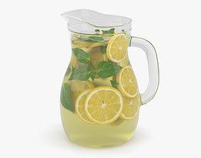 3D Lemonade Pitcher