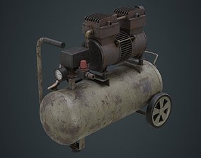 Air Compressor 2B 3D asset