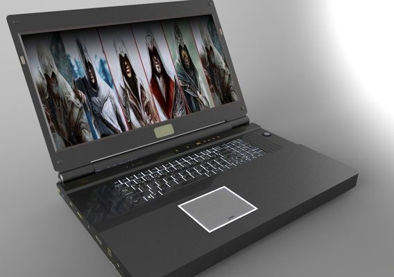 MONSTER P570WM3D 17.3 (3D) Laptop