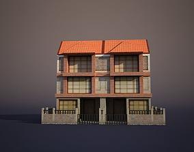house 3D asset realtime Apartment House