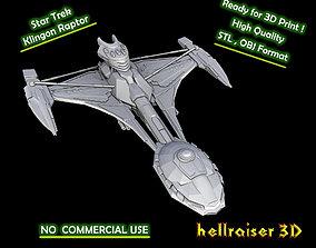 Star Trek - Klingon Raptor - 3D Printable
