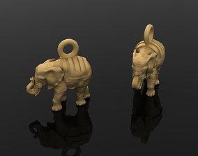 3D print model Pendant Elephant 181