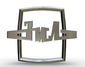 zil logo cars 3D model