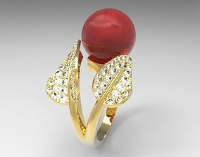 ring pearl oyster 3D printable model