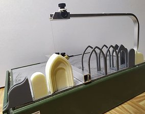 Jigs to print with a resin printer for foam cutter