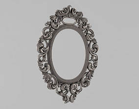 3dprint Frame mirror 3D printable model