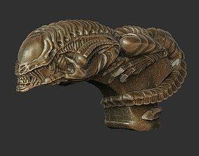 3D printable model Cane alien