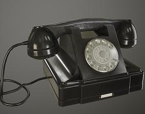 3D asset Old Phone