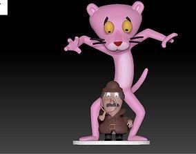Pink Panther conceptual 3D print model
