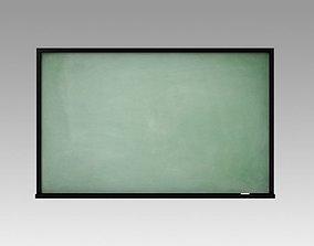Chalkboard 3D model graph