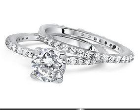 3D printable model jewellery gemstone Ring