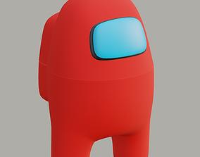 3D print model Among Us character game