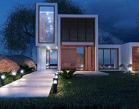 Exterior House 3D model