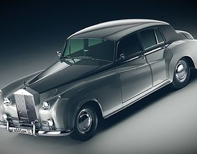 rr 3D model Rolls-Royce Silver Cloud II