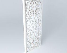 3D model White mirror RANAKPUR